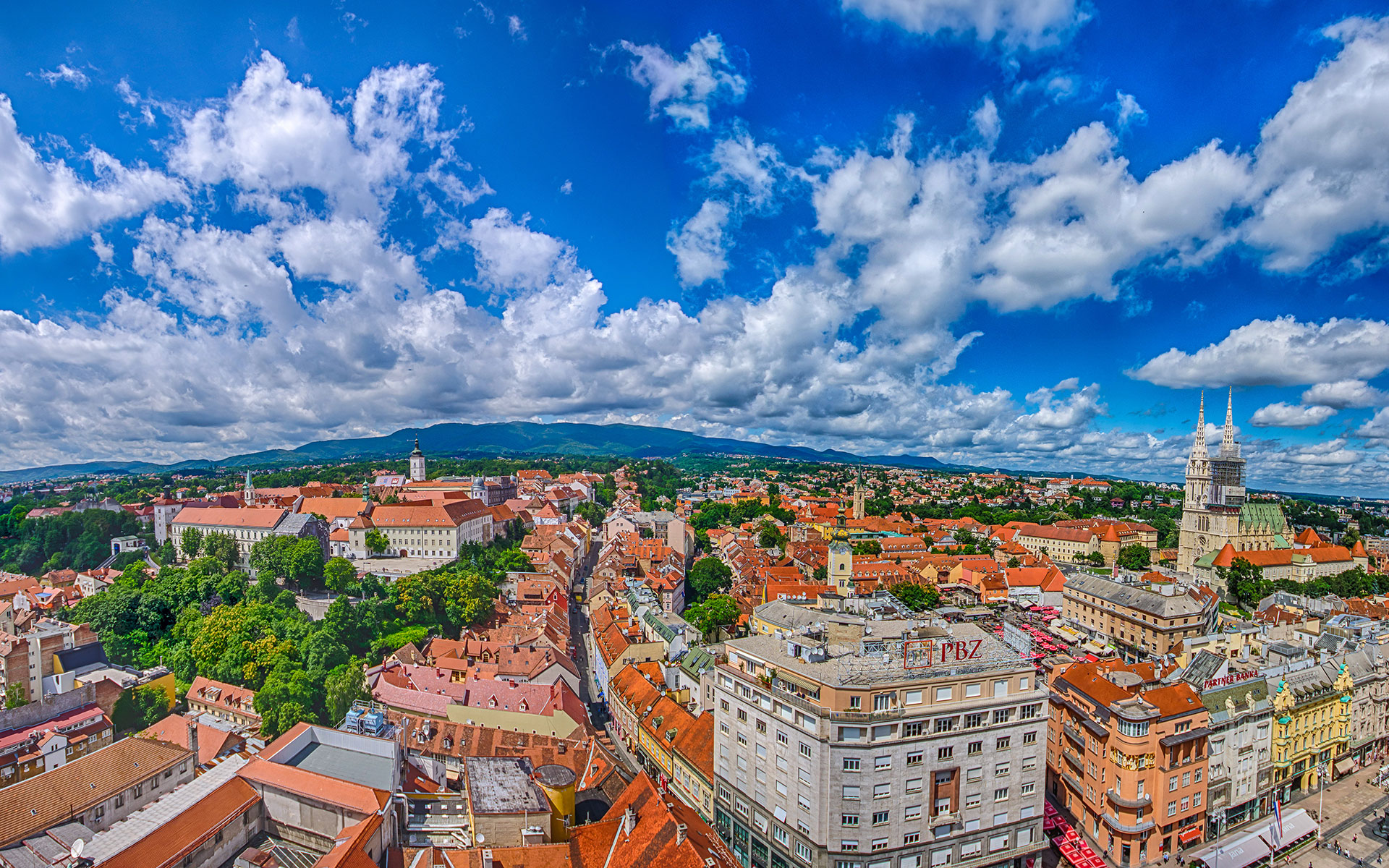 Zagreb 360° | Aussichtspunkt Zagreb Eye 10 Most Beautiful Places In The World Wallpaper